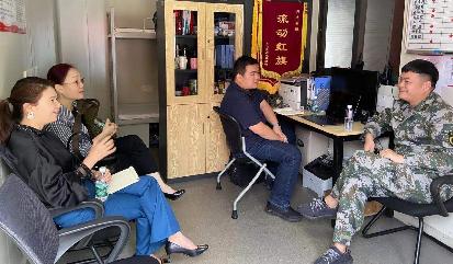 泰普科与南山社区消防救援站进行交流